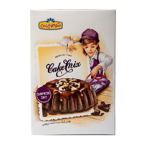 پودر کیک نیمه آماده براونی