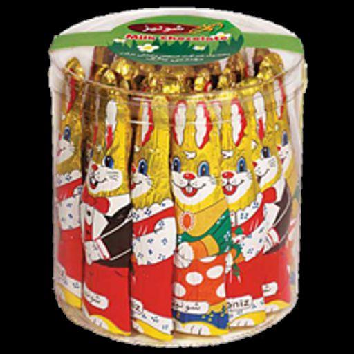 شکلات خرگوشی شوکوپارس (بسته 25 تایی)