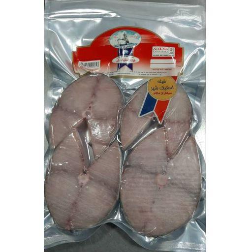 فیله ماهی استیک شیر 700گرم