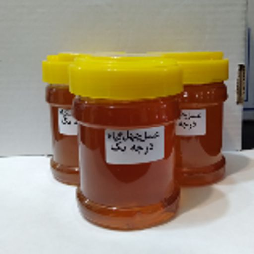 عسل طبیعی چهل گیاه 450 گرمی