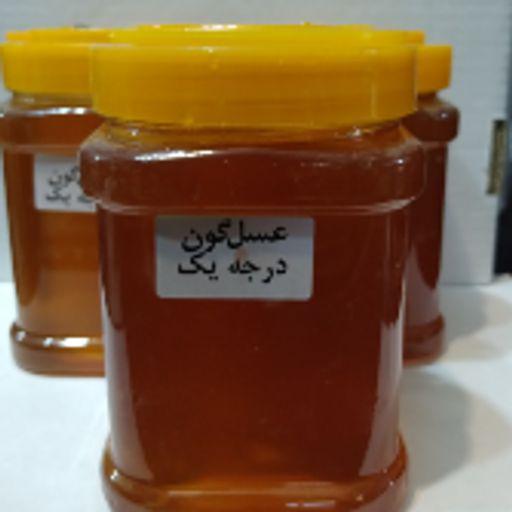 عسل طبیعی گون 1 کیلویی