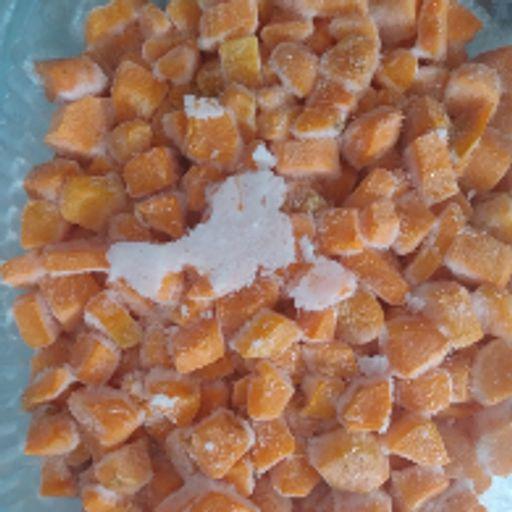 هویج نگینی فریز